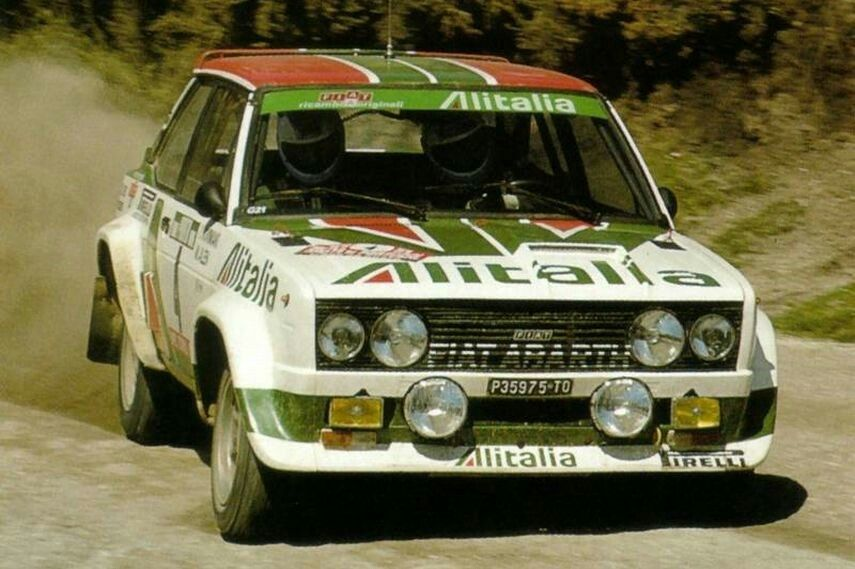 Markku Alen Fiat 131 Abarth 1978 Portugal With Images Rally