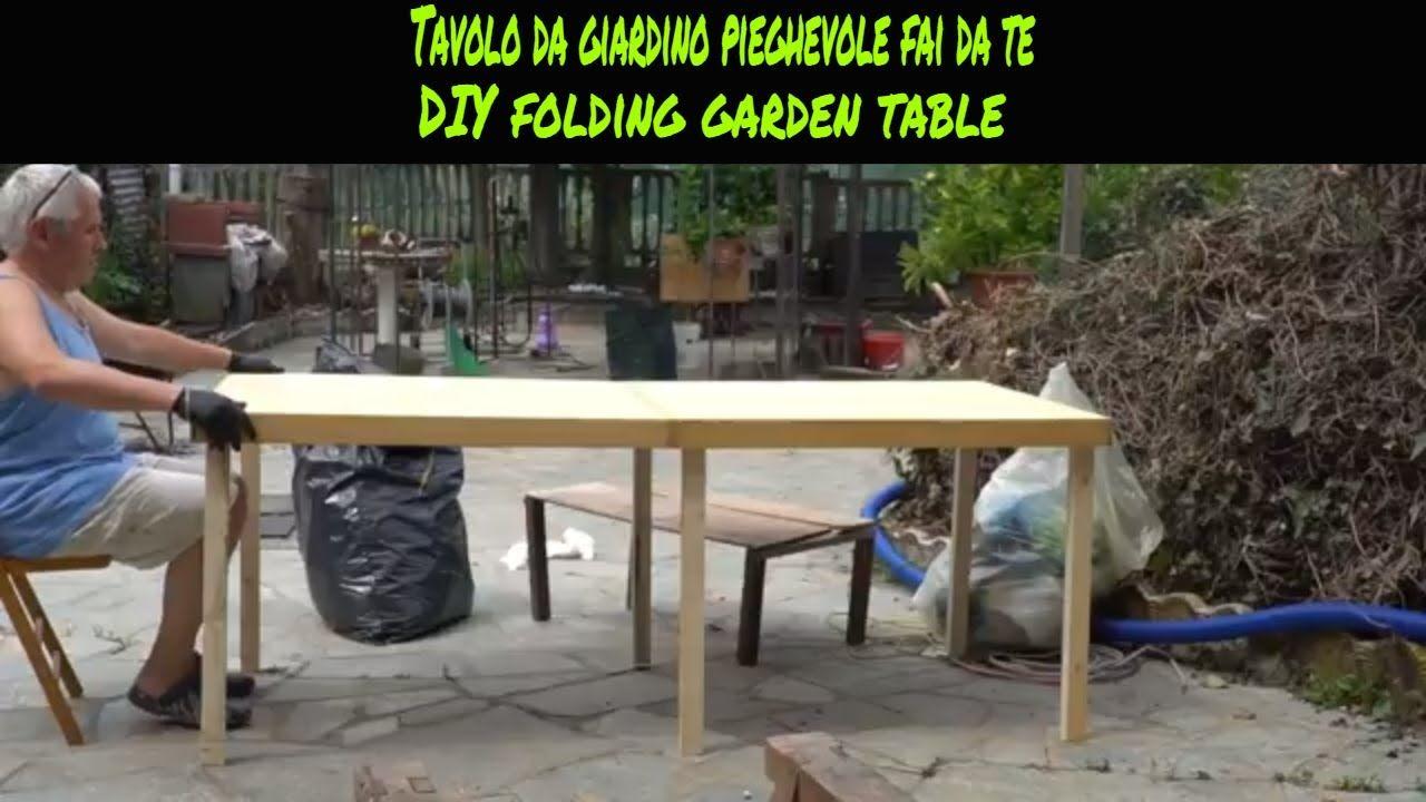 Realizzare Un Tavolo Da Giardino.Costruire Un Tavolo Da Giardino Eziadilabio