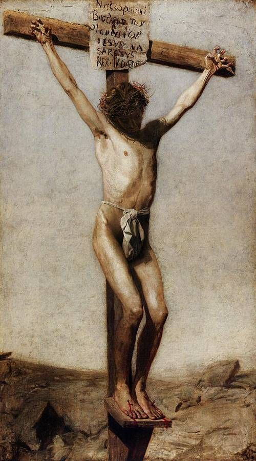 Mark 15:22-32 jesus is nailed to the cross, crucified, and dies for ...
