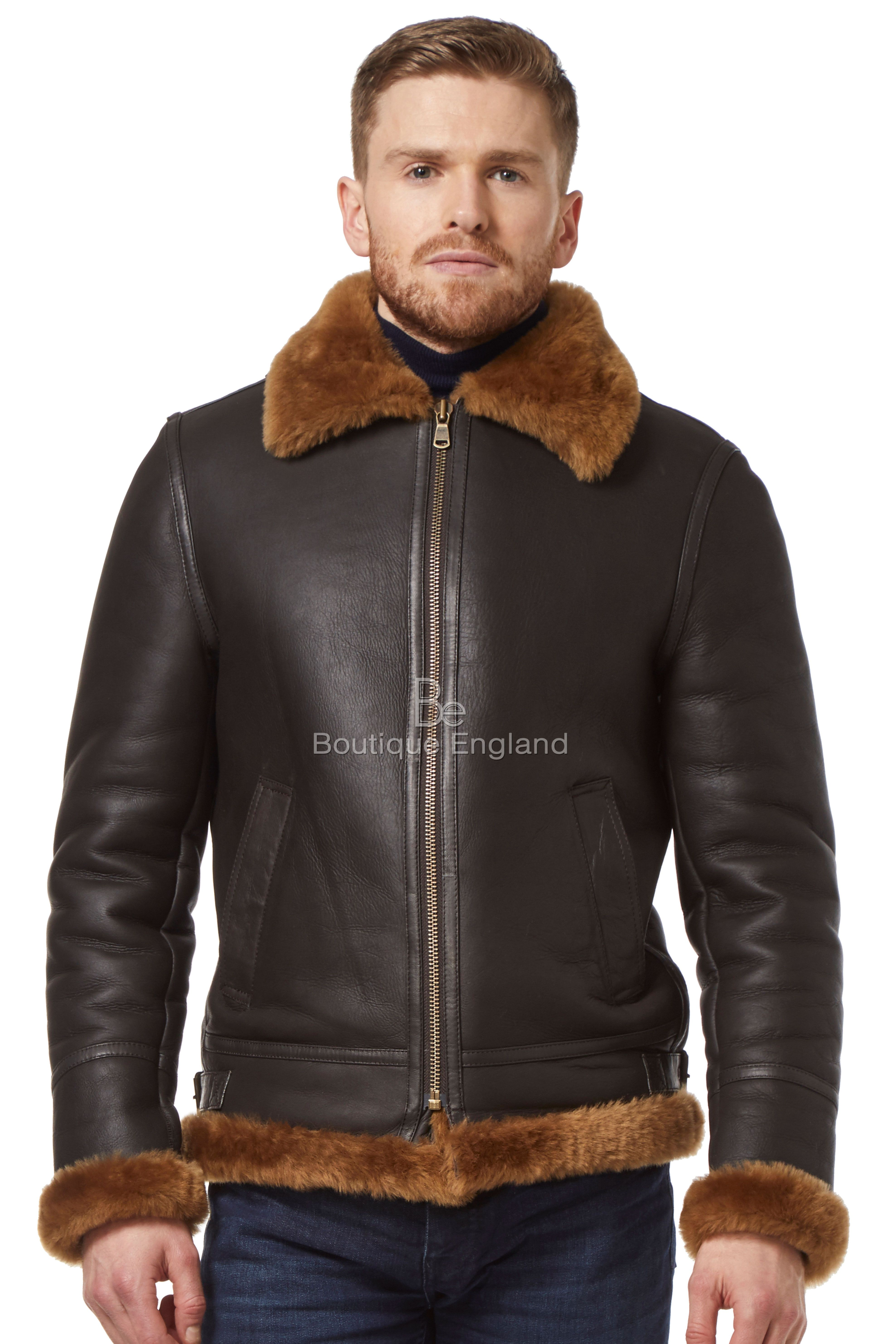Mens sheepskin jackets Shearling Jackets Jackets on