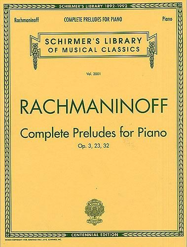 Rachmaninov Prelude Rachmaninoff Music Online