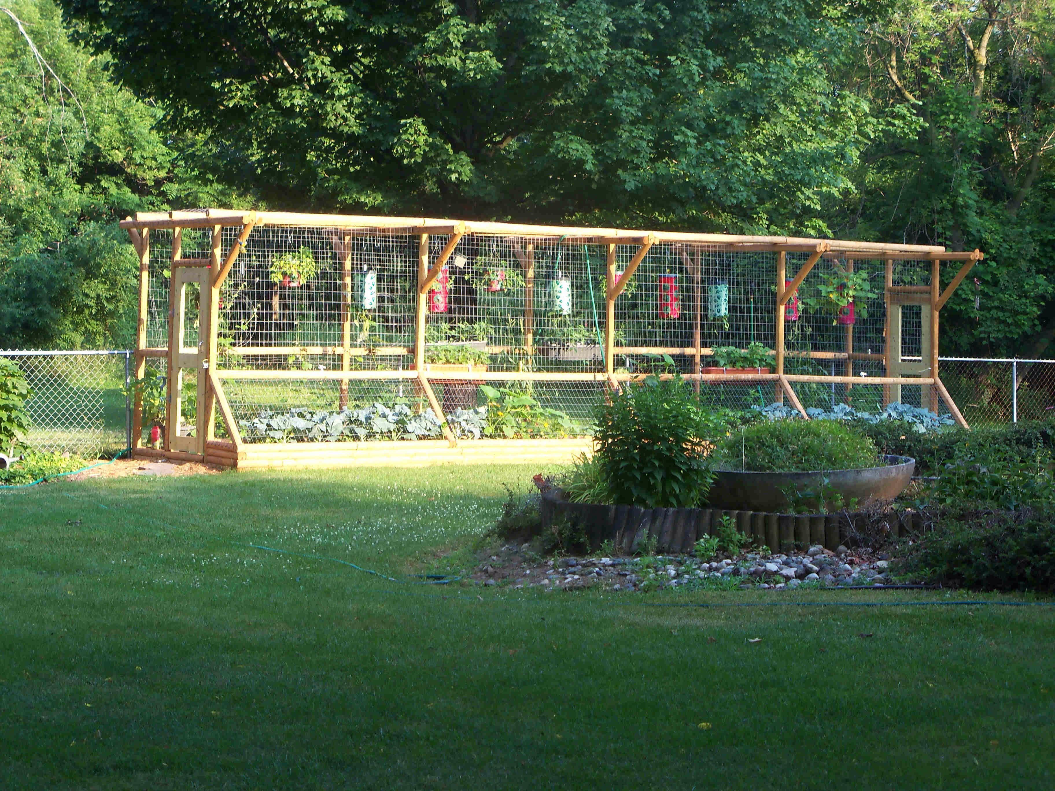 Good Idea For Hanging Planters Vegetable Garden FencesSmall