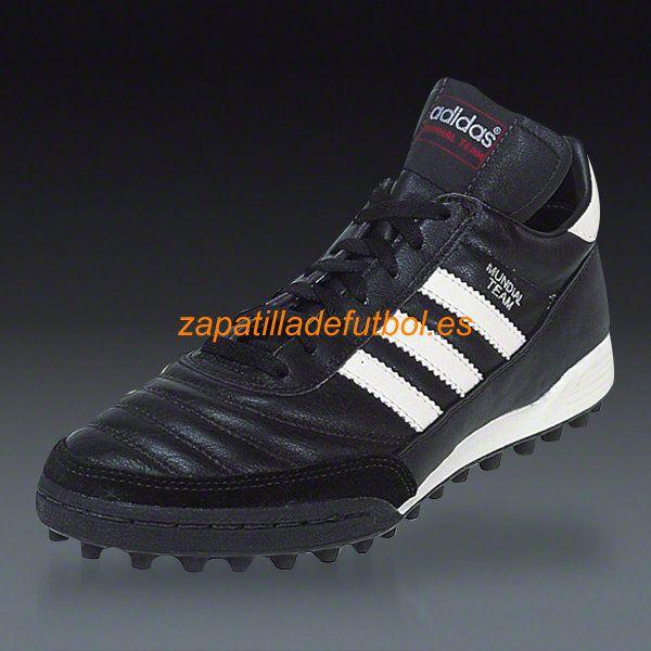 Hombre Zapatos Para Turf Mundial Adidas Team Caliente Soccer Negro qtFxwdd