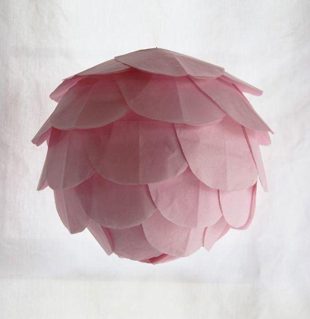 como hacer lamparas caseras Ser creativo Pinterest Papel - Lamparas Caseras