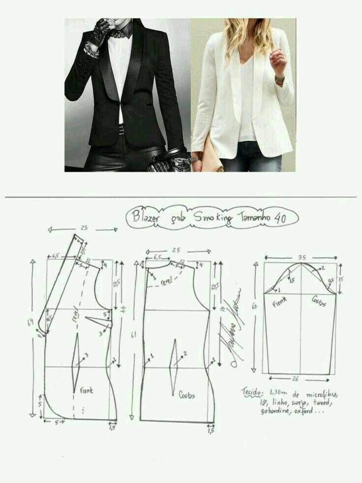 Model Baju Blazer Panjang