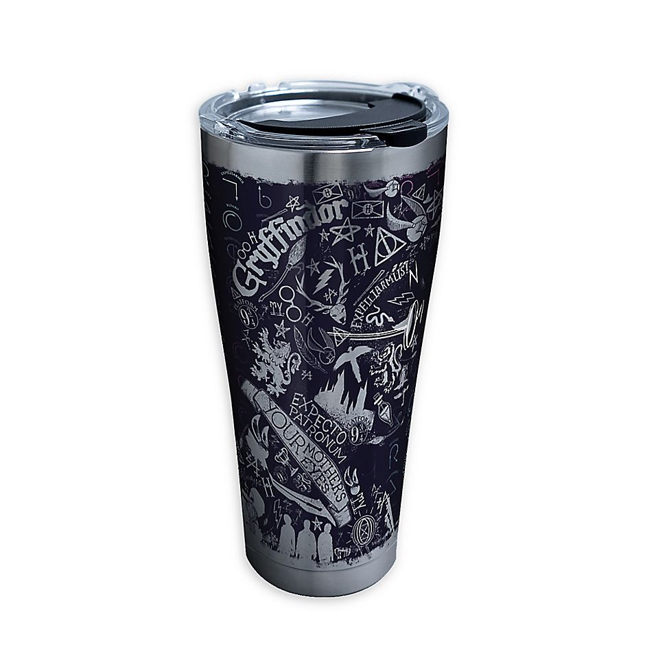 Harry Potter 30 oz Tervis Stainless Steel Tumbler Illustrated Crests