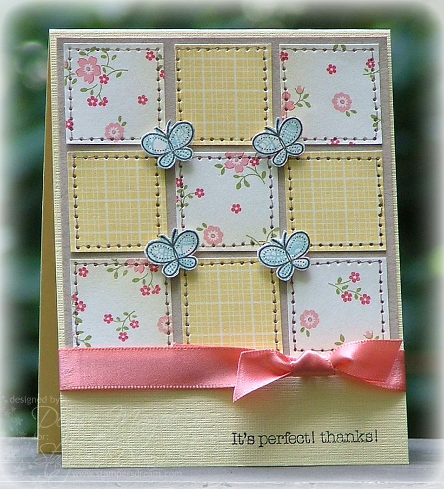 The Paper Landscaper: July 2010 | Cards | Pinterest | Cards and ... : quilted cards - Adamdwight.com