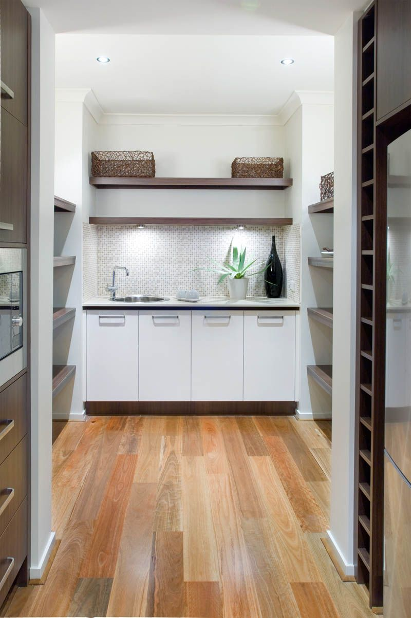 Butlers pantry designs ideas metricon butlers pantry for Kitchen floor plans with island and walk in pantry
