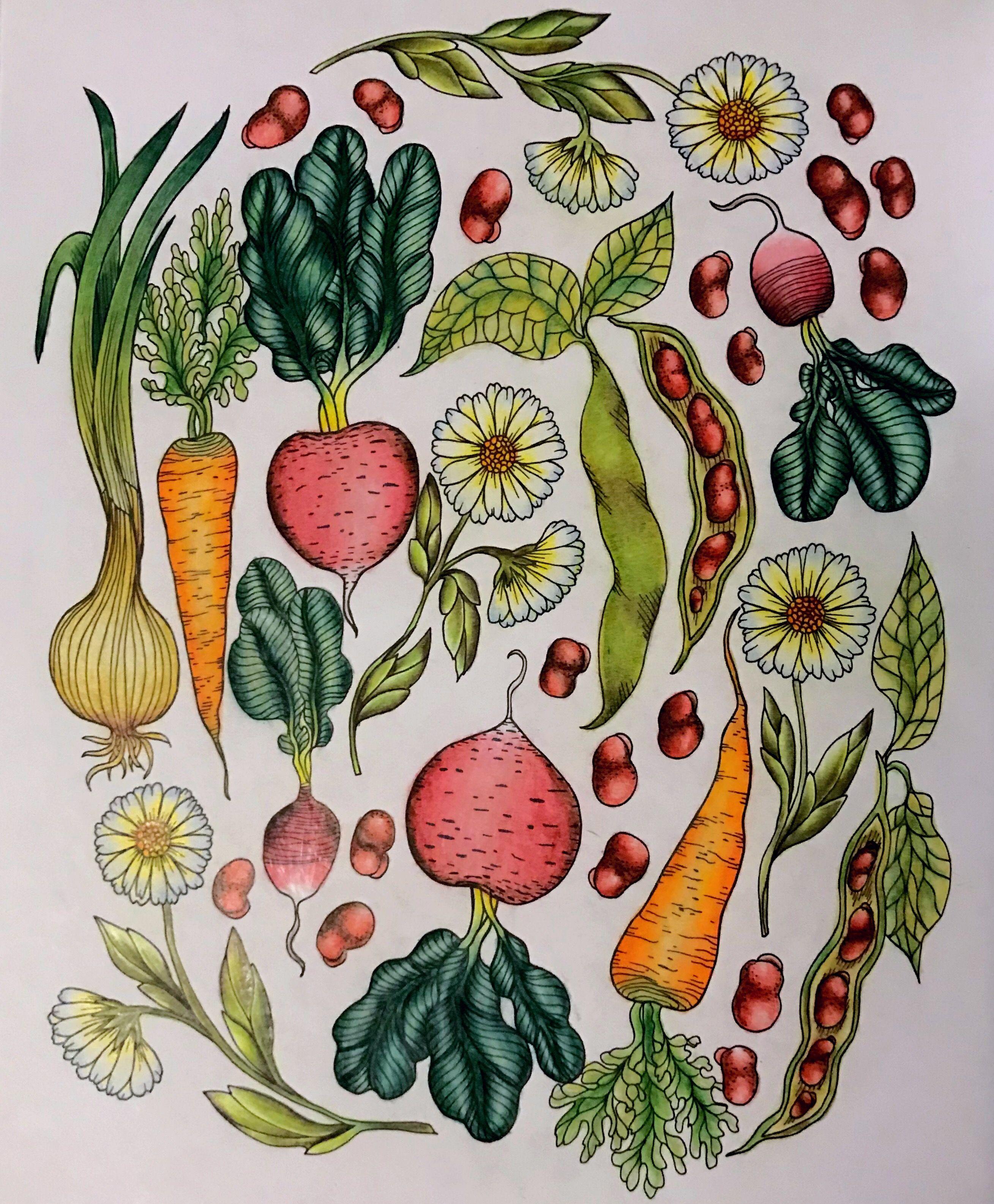 Сумеречный сад Мария Тролле | Тролль, Раскраски, Рисунок