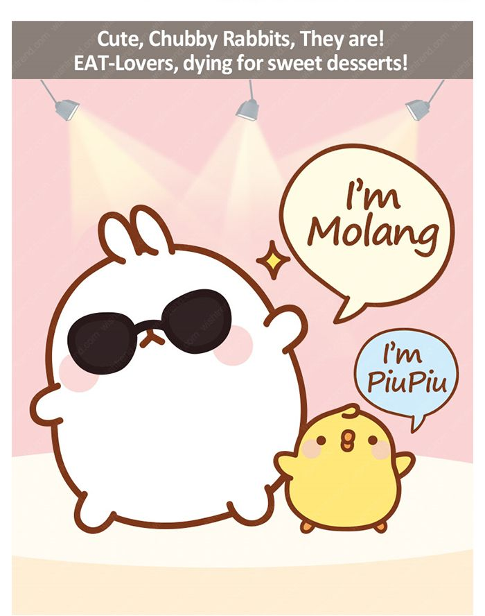 What Is Molang With Images Molang Cute Wallpapers Kawaii