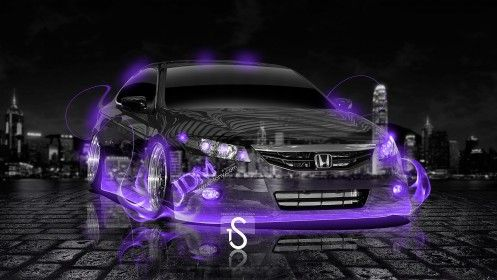 Charmant Honda Civic SI Coupe JDM Violet Fire Crystal