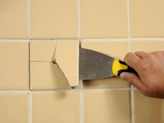 How To Replace Broken Ceramic Tile Ceramic Tiles Shower Floor