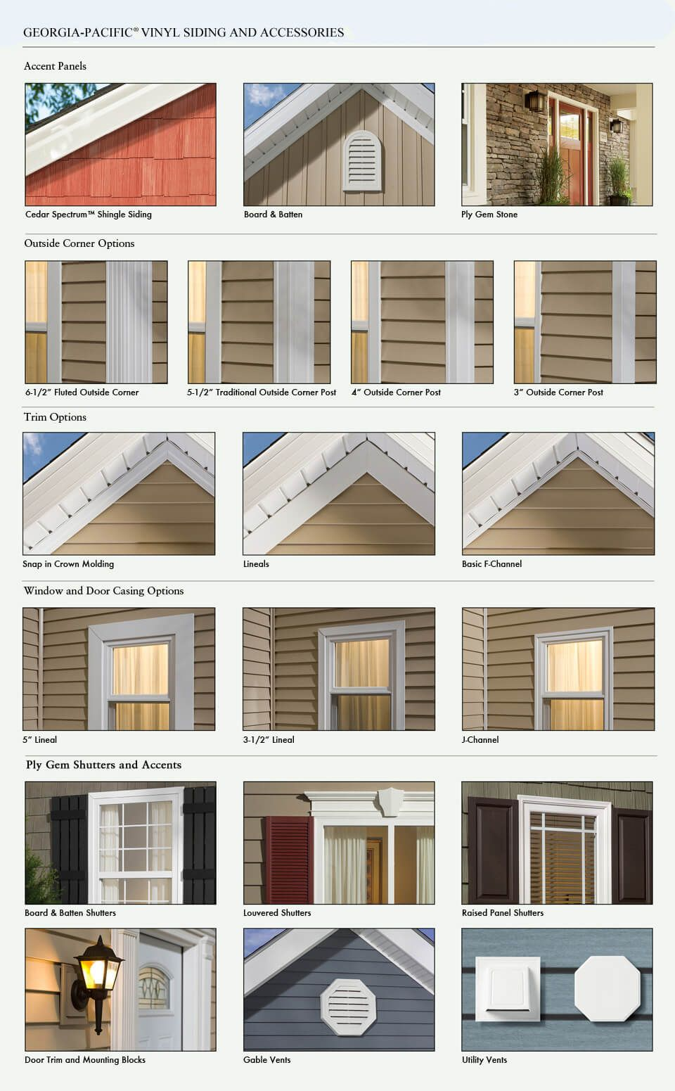 GP Vinyl Siding (With images) House exterior, Siding options