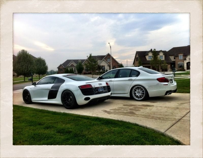 R8 and M5 http://www.f1deals.com/