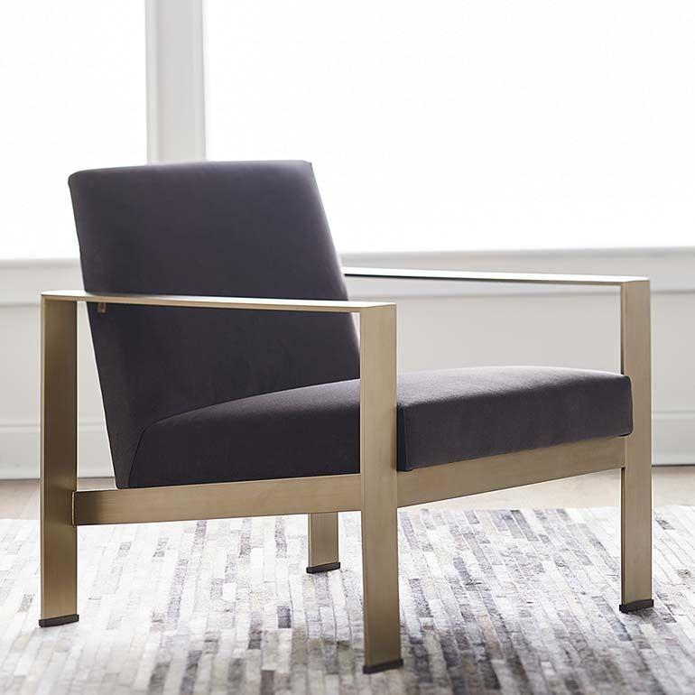 MODERN-Lela Accent Chair | Bassett Furniture | Chair, Brown leather ...