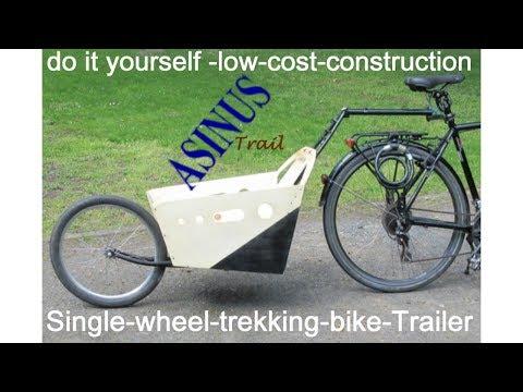 26 Einrad Fahrradanhanger Selber Bauen Einradfahrradnachlaufer