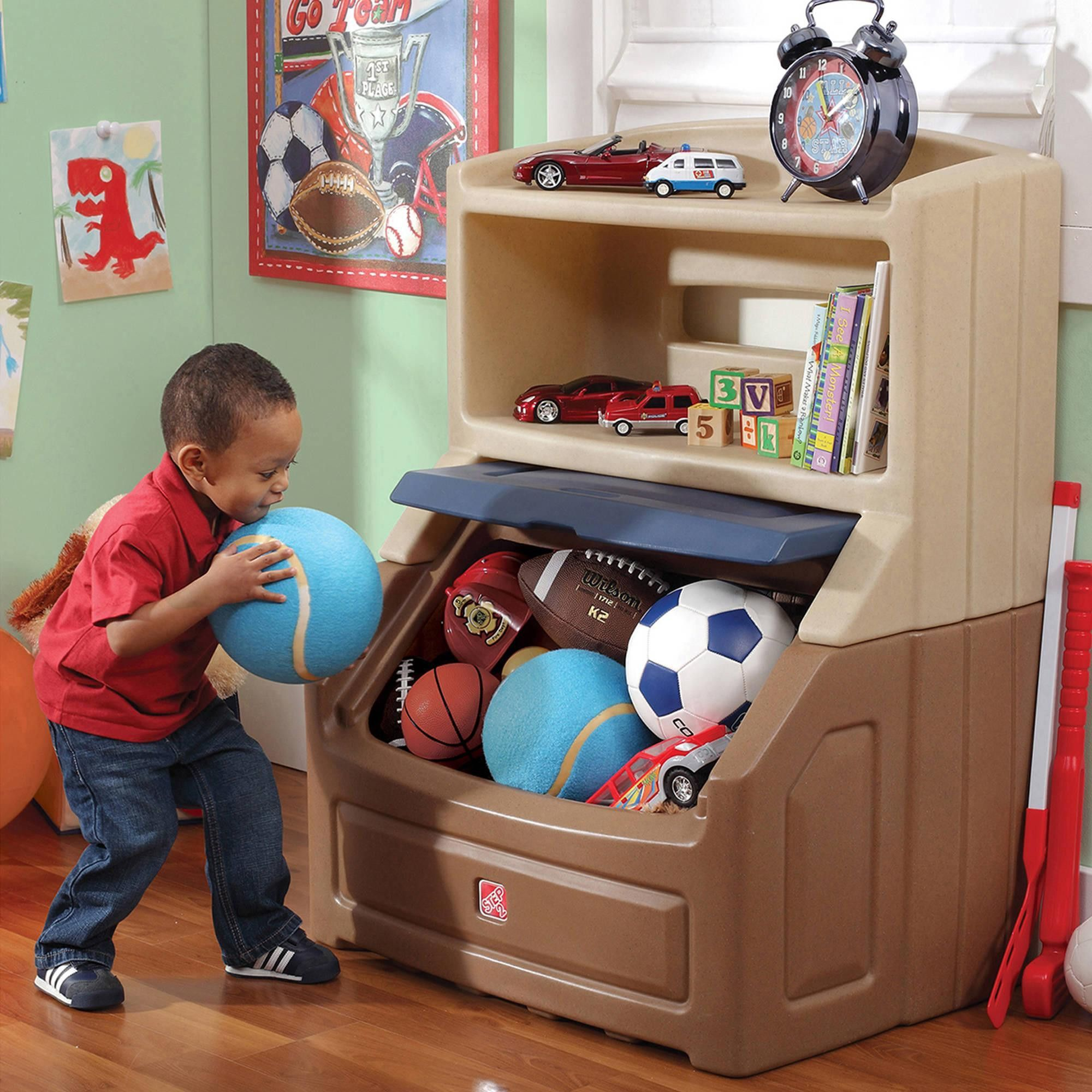 Lift And Hide Bookcase Storage Chest Only 5 In Stock Order Today Product Description The Step With Images Kids Storage Bins Kids Play Room Organization Toy Storage Boxes