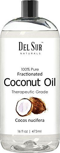 #Del #Sur #Naturals #Fractionated #Coconut #Oil, #Moisturizer, #Aromatherapy #Relaxing #Massage, #Carrier #Oil for #Essential #Oils, #16 #fl #oz #Del #Sur #Naturals #Fractionated #Coconut #Oil, 100% pure and natural #coconut #oil from Indonesia, no dilutions, no additives Free of pesticides sustainably farmed; spreads and absorbs well; made with no animal ingredients and not animal tested. For external use only; keep out of reach of children and pets; avoid contact wi
