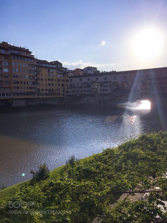 Ponte Vechio - Firenze by arrobafutatas #nature #photooftheday #amazing #picoftheday #sea #underwater