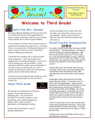 Parent letter my classroom pinterest parents school and parent letter welcome back letterletter templatesparent thecheapjerseys Gallery