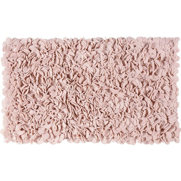 Aquanova Sepp Bath Mat Blush 60x100cm 119 Liked On Polyvore Featuring Home Bed Rugs Pink And Bathroom