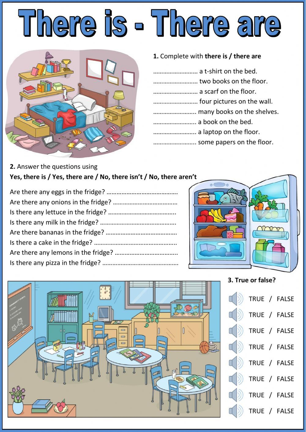 Color By Word Worksheet Pdf There Is  There Are Interactive And Downloadable Worksheet Check  Second Grade Subtraction Worksheets Word with Rates Word Problems Worksheet Word There Is  There Are  Interactive Worksheet Dna And Genes Worksheet Answers Excel