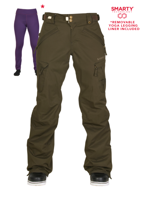 686 Womens Authentic Smarty Cargo Pant