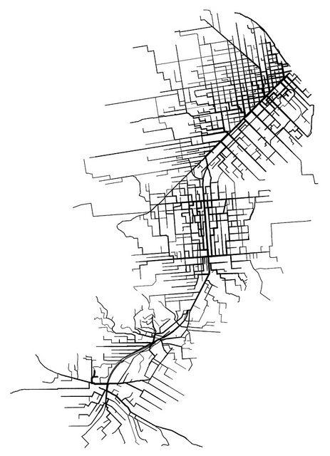 San Francisco BART station walksheds