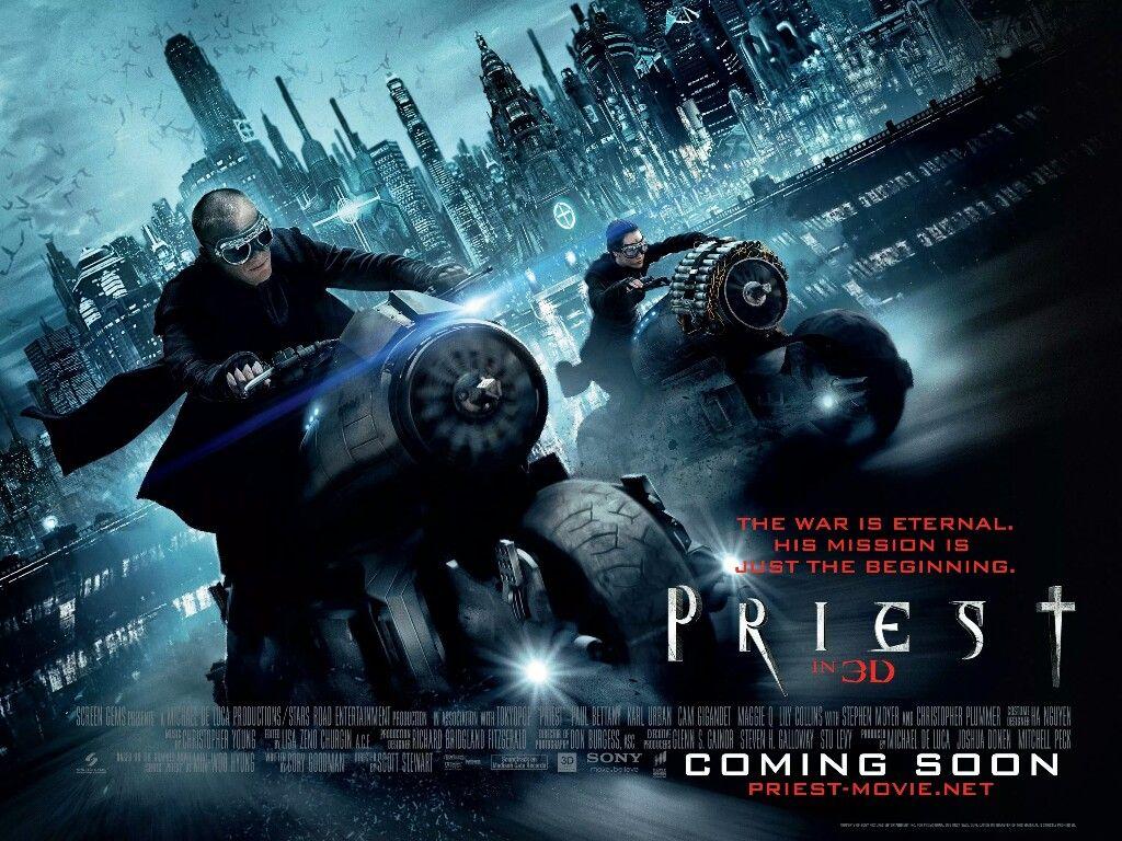 Priest Movie Poster Fantastic Movie Posters Scifi Movie Posters Horror Movie Posters Action Movie Posters Drama Movie Adventure Movie Movie Posters Priest