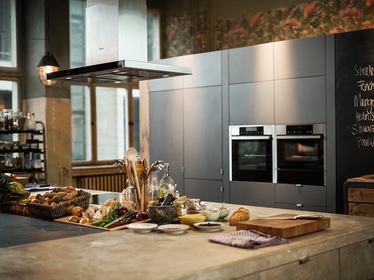 Backöfen und Dunstabzugshauben von NEFF machen n jeder Küche eine ...