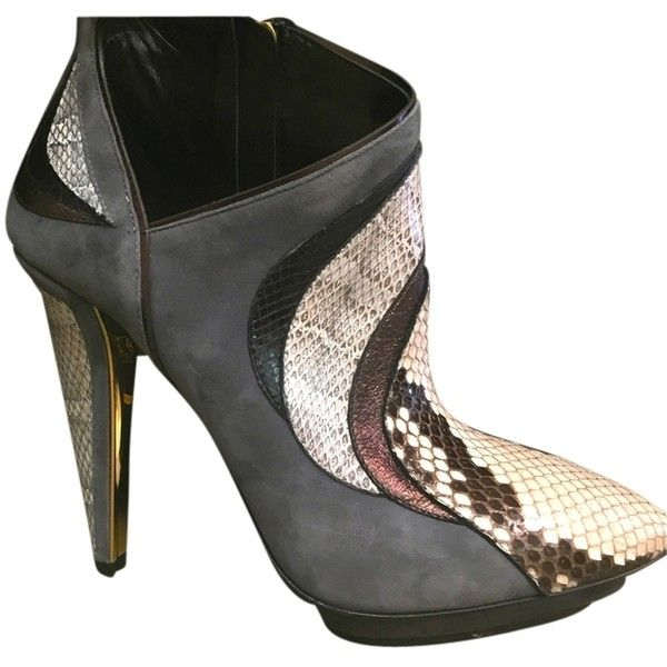 Pre-owned - Python heels Roberto Cavalli zcSk8eGWY