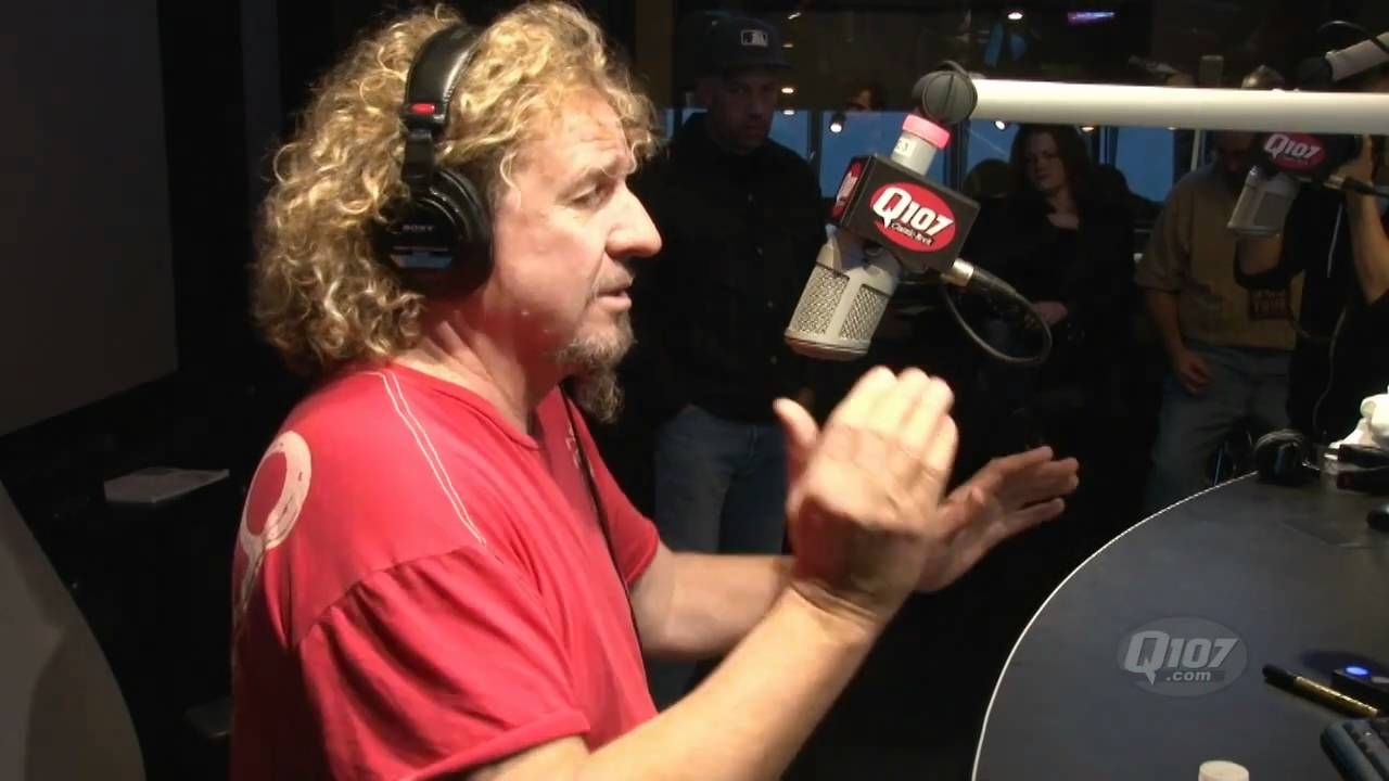 Sammy Hagar On Eddie Van Halen Q107 Classic Rock Van Halen Sammy Hagar Eddie Van Halen