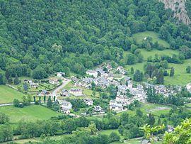 Antignac (HG) village.JPG