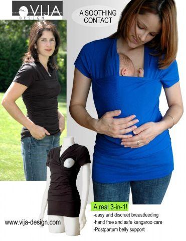 Www Vija Design Com Skin To Skin Breastfeeding Belly Support
