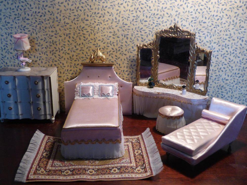 Petite Princess Ideal Dollhouse Bedroom Set Petite, Princess and