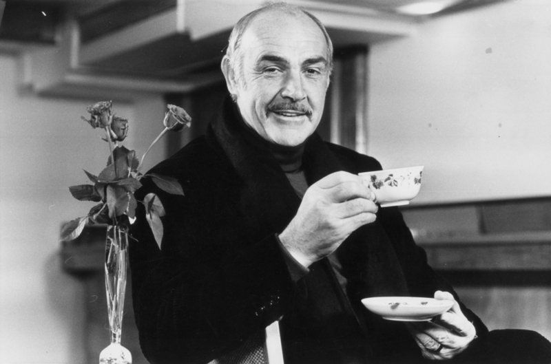Image result for sean connery tea