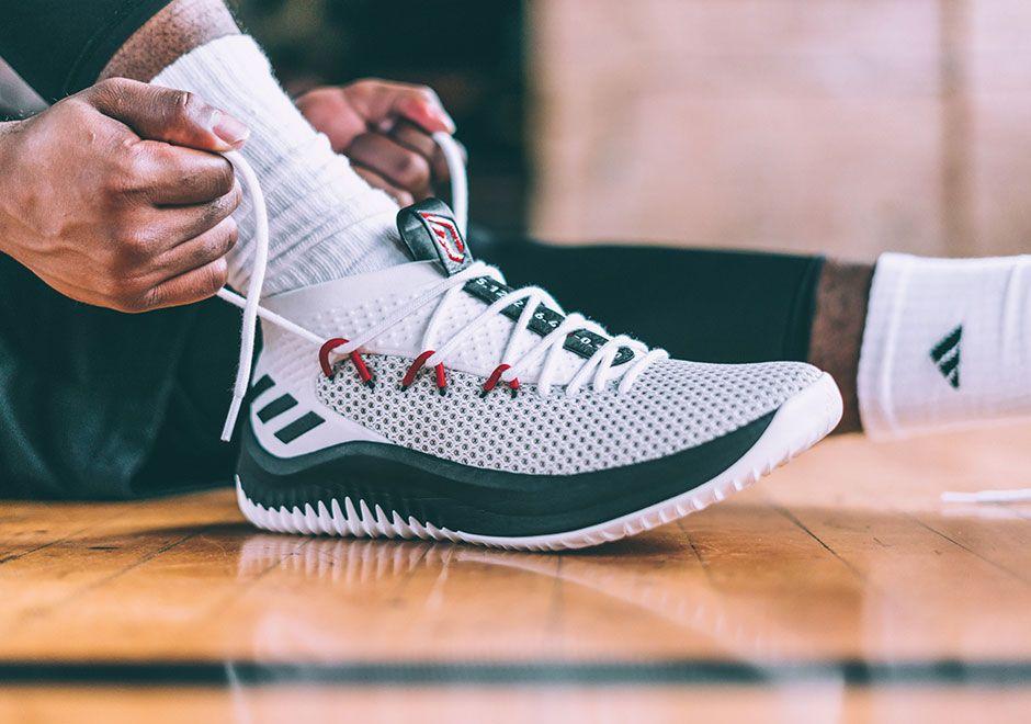 Adidas Dame 4 Damian Lillard Shoe Release Info Sneakernews Com Adidas Dame Sneakers Bape Shark Hoodie