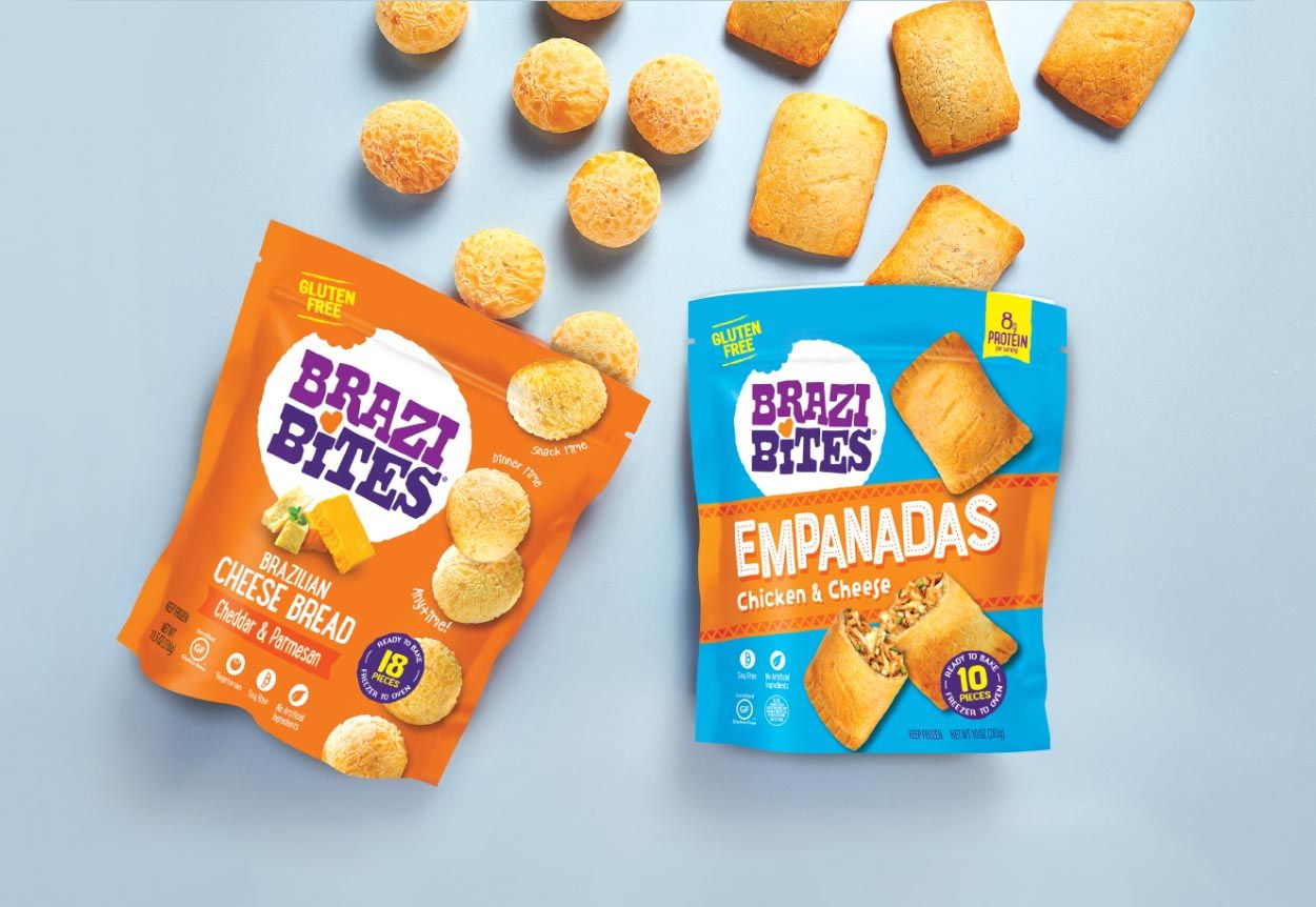 For Snack Time Dinner Time Or Any Time Find Our Delicious Brazilian Cheese Bread And Empanadas At Your Local Grocery Store U Brazi Bites Cheese Bread Snacks