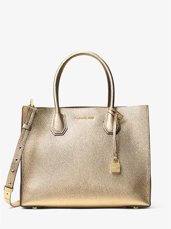 cba4366c8c2b Mercer Large Metallic Leather Tote_preview0 | Wish list | Tote ...