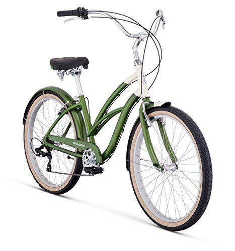 Raleigh Bikes Women S Retroglide 7 Step Thru Cruiser Bike 26 One Size Green For Sale Raleigh Bikes Cruiser Bike Bike