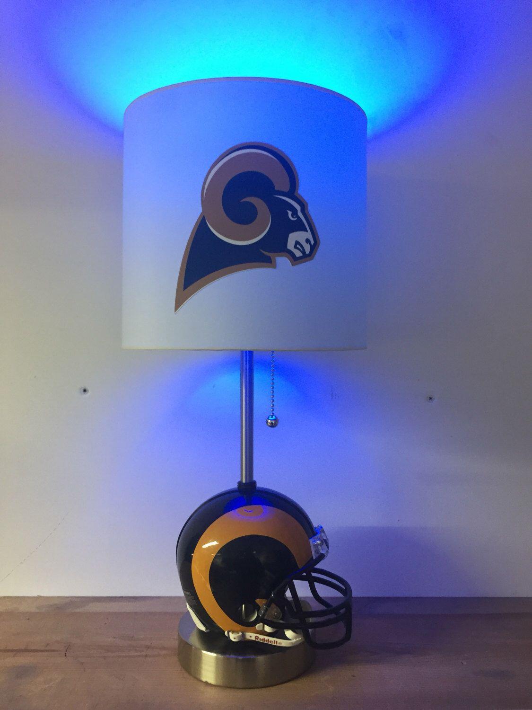 Superb Los Angeles Rams Mini Helmet Football Lamp NFL By CaliradoArt On Etsy  Https://