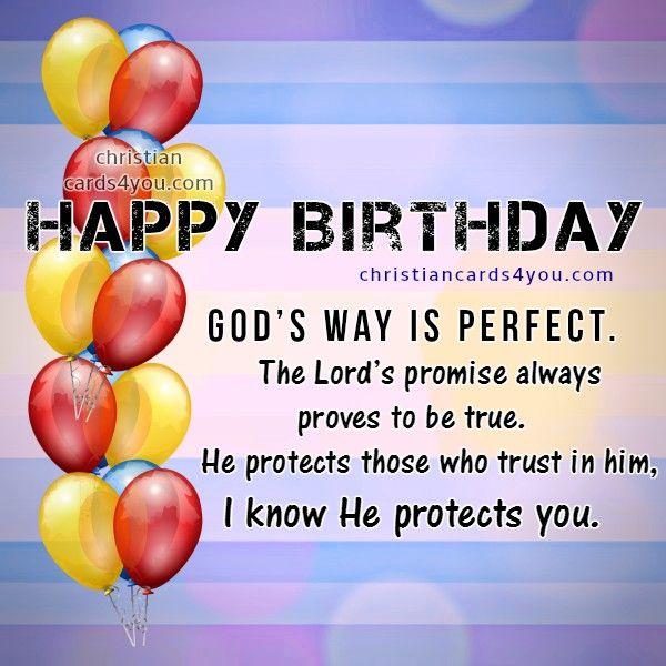 Happy Birthday Greeting Card Larry Martin Gorgeous Religious