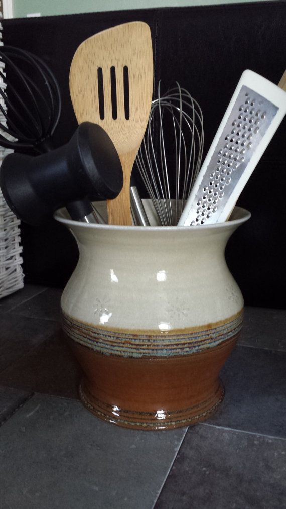 A Large Vase, Kitchen Utensil Crock Or Wine Chiller, This Pot Will Hold It