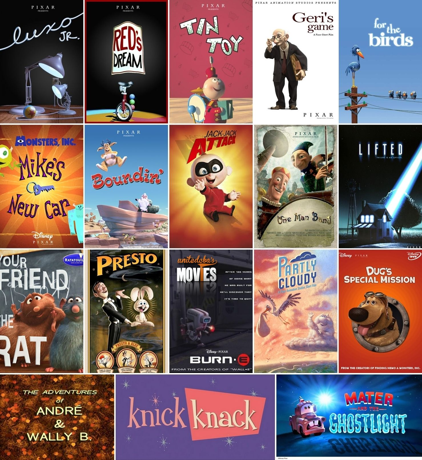 Complete Your Pixar Shorts Collection