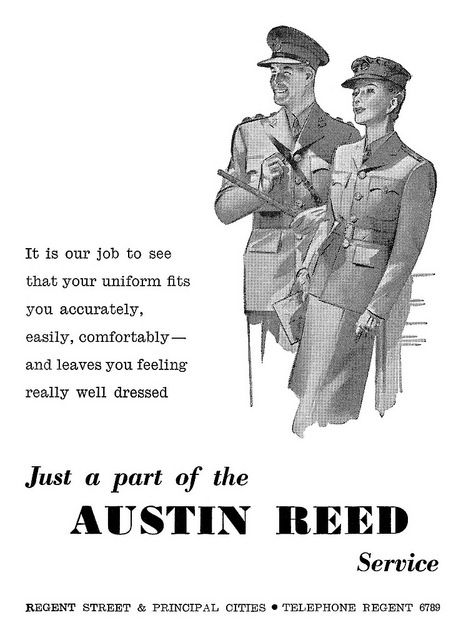 1944 Austin Reed Ad Austin Reed Vintage Advertisements How Are You Feeling