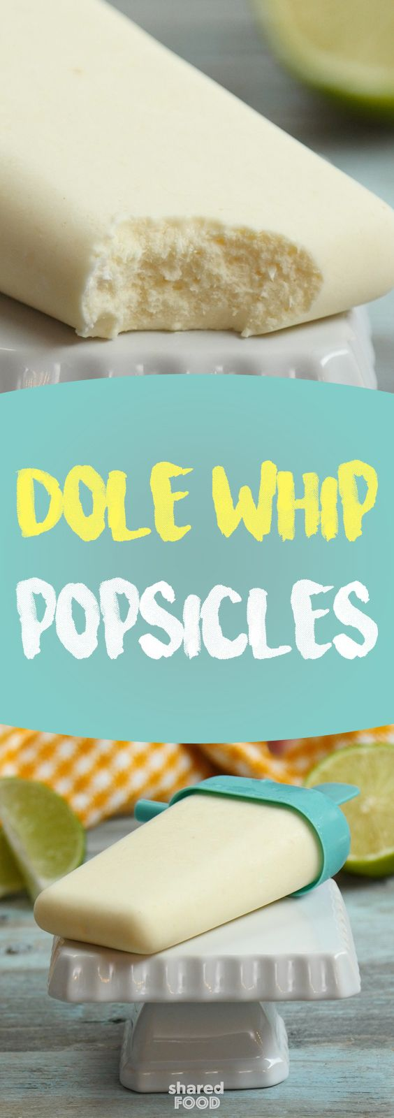 Dole Whip is well-known by Disney lovers as one of their most famous and loved sweet treats. Even if you haven't tried the creamy soft serve, if you're a pineapple lover, this one's for you. These Dole Whip Popsicles are the perfect way to cool off in the summer heat. All it takes is a simple blitz through the blender, pop them into popsicle molds, and you've got a treat that can be kept frozen until you're ready for a cool-off session. The whole family will love these!