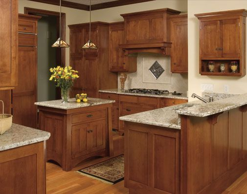 Images Of A Country Kitchen With Mission Cabinets