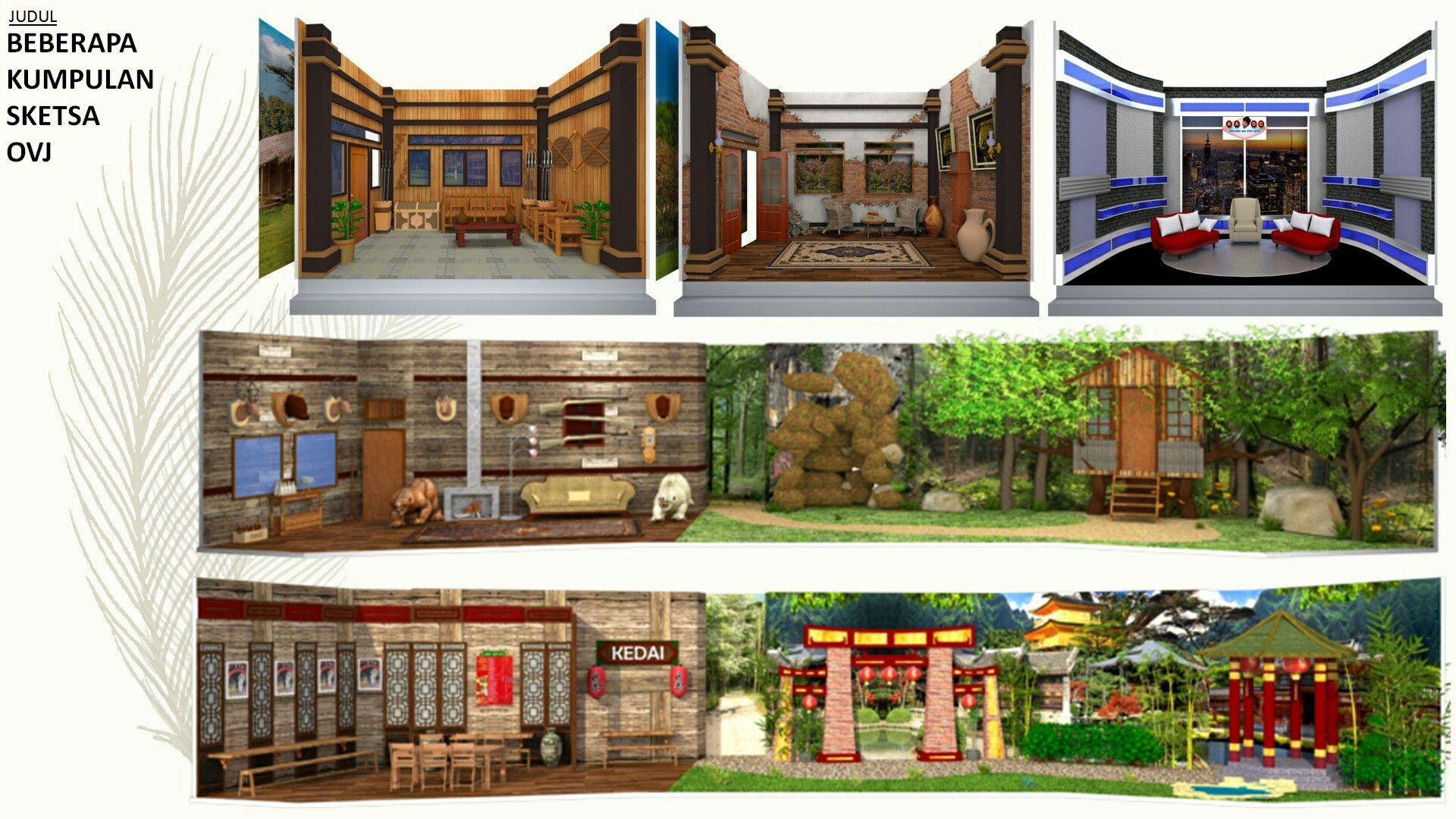 Sketsa Opera Van Java Ovj Trans7 Portfolio Arsitektur