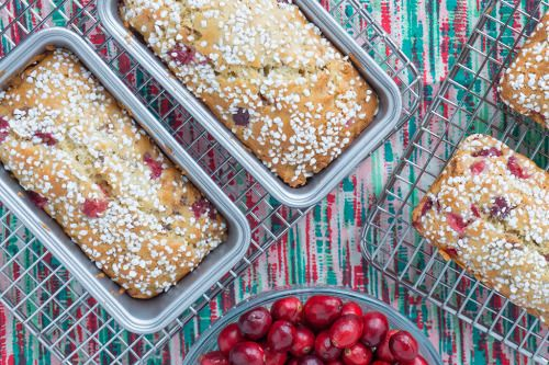 Holiday baking has begun! Cranberry Walnut Bread with a  Mein Blog: Alles rund um Genuss & Geschmack  Kochen Backen Braten Vorspeisen Mains & Desserts!
