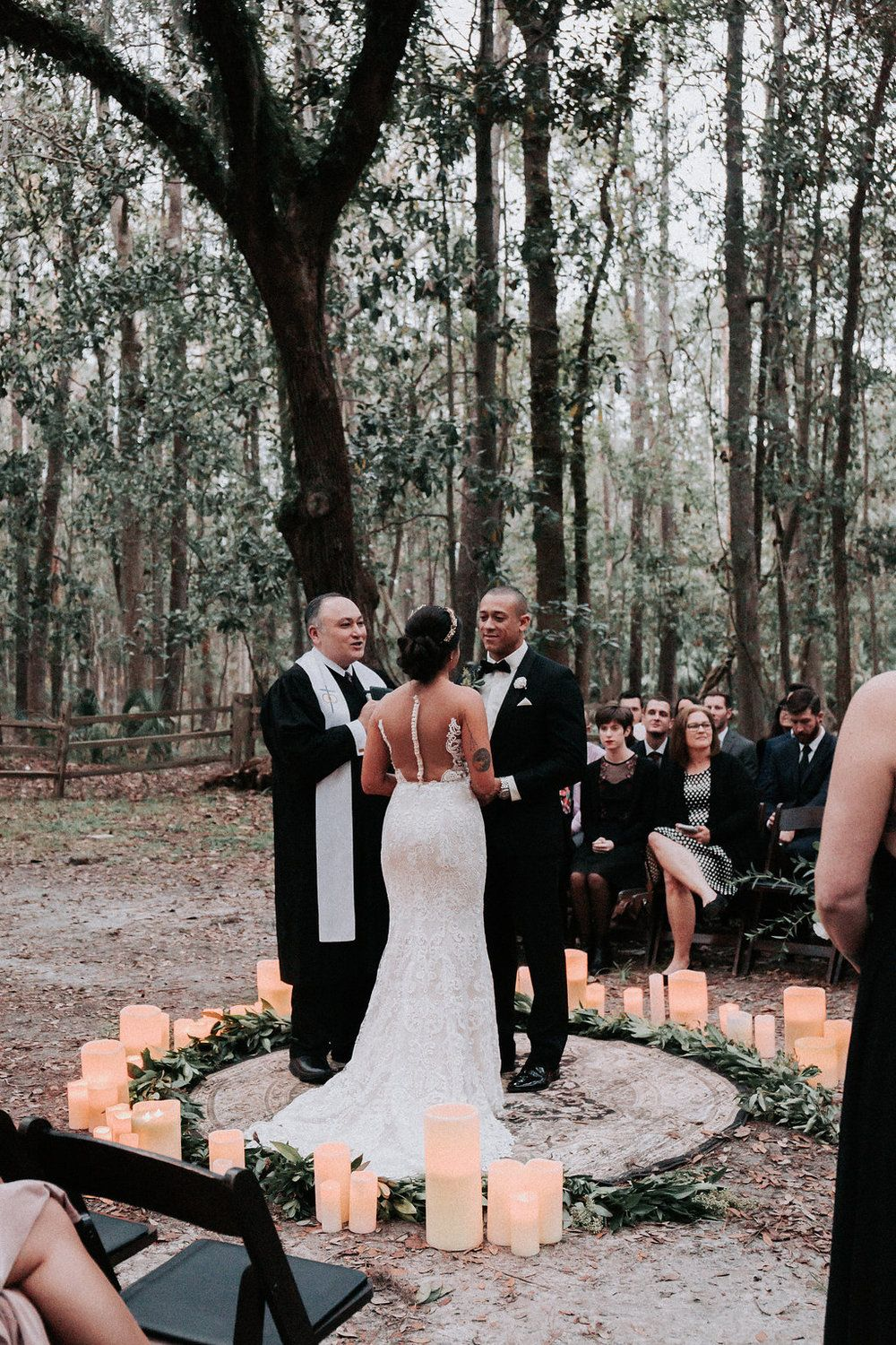 Ivory Beau Couple Caitlin Timothy In 2020 Wiccan Wedding Halloween Themed Wedding Pagan Wedding